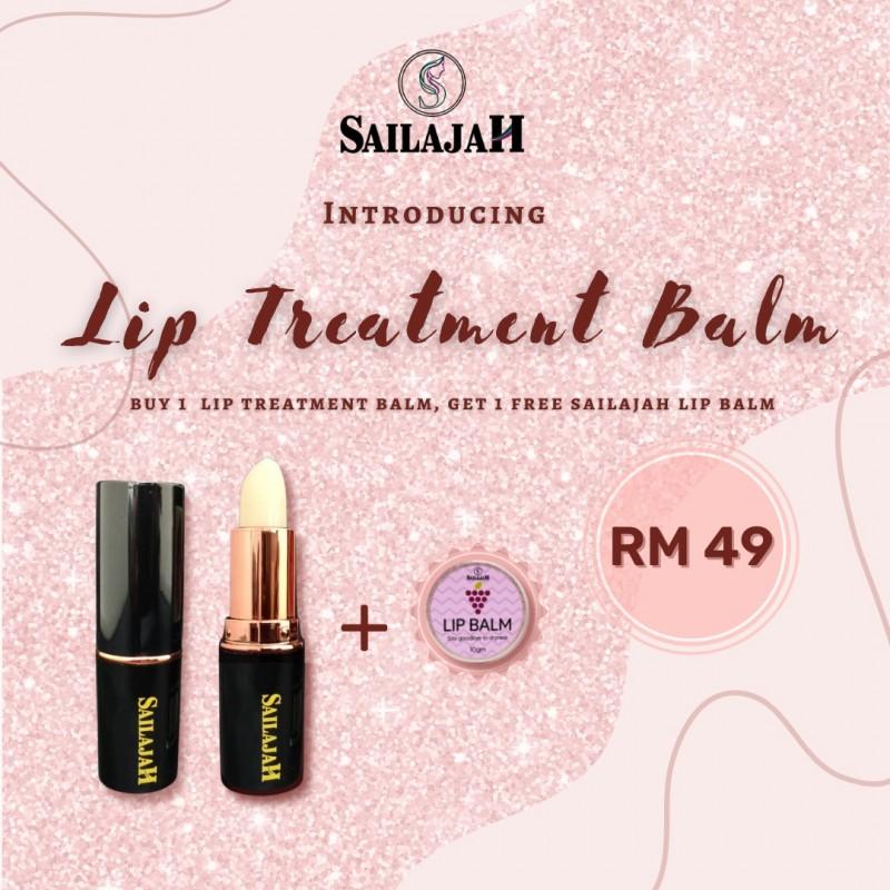 New Launch Sailajah Lip Treatment Balm + Free Sailajah Lip Balm